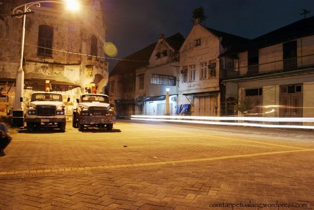 Kota Lama Semarang Jelajah Kampung Eropa Malam Hari