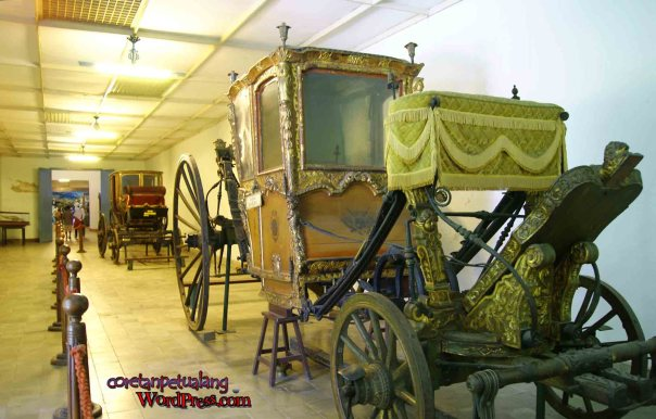 Keraton Solo Kereta Raja di Museum
