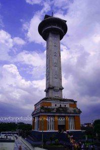 Menara Biru Masjid Agung Jawa Tengah