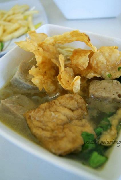 Salah Satu Makanan Di Cafetaria Masjid Agung Jateng