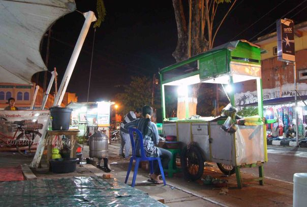 Warung Kerang di Jepara Shopping Center