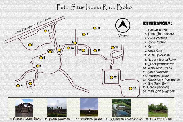Peta Istana Boko Jogja
