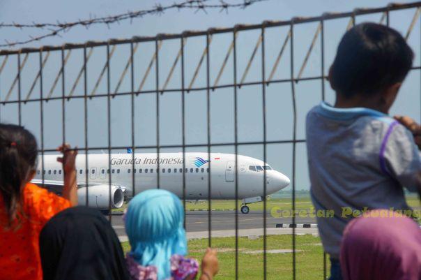 Pesawat dari Bandara Ahmad Yani Semarang