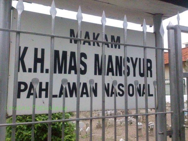 Makam KH Mas Mansyur